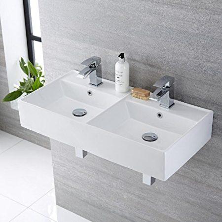 Waschtisch für 2 Personen & Waschbecken mit Übergröße