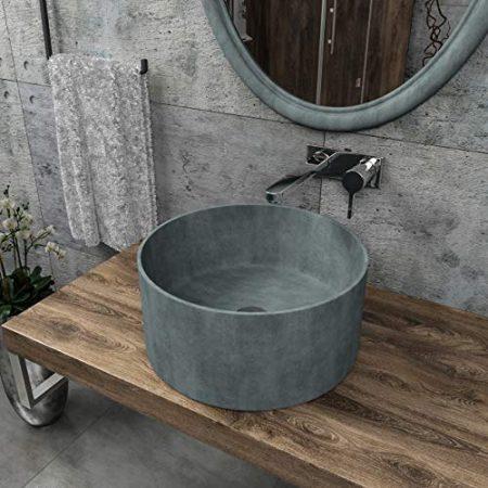 Handwaschbecken aus Beton & Beton Waschschale
