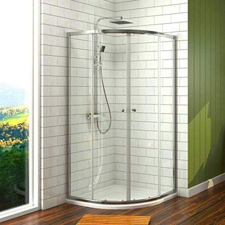 Viertelkreis Duschkabinen & Dusche in runder Form