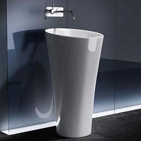 Waschbecken als Säule & Freistehende Waschsäulen
