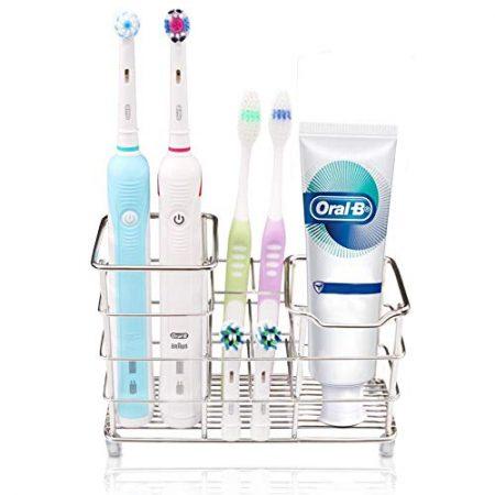Zahnbürstenhalter & Becherhalter mit Zahnbürsten
